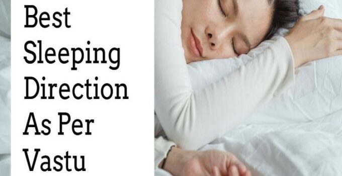 sleeping direction as per vastu