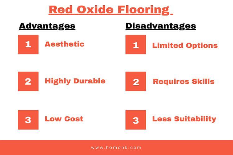 red oxide flooring advantages