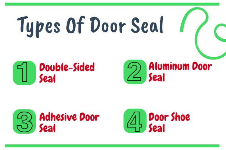 Types of door seal